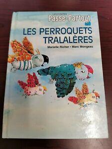 Livre-Les-Contes-Passe-partout-034-Les-Perroquets-Tralaleres-034-Vintage