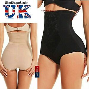 Ladies Womens Seamless Plus Size 6-24 Waist Shaper Firm Control Support Girdle