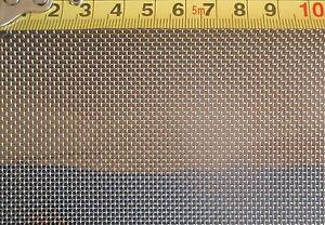 1 qm, Edelstahl Drahtgewebe,0,5mm Drahtstärke,1mm Maschenweite ...