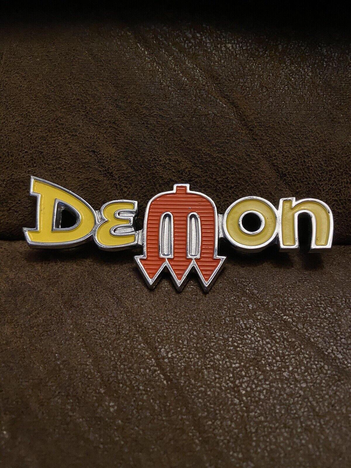NEW Mopar 1972 Demon Fender Emblem