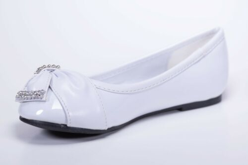 Toddler /& Youth White baptism First communion White Dress Shoes.