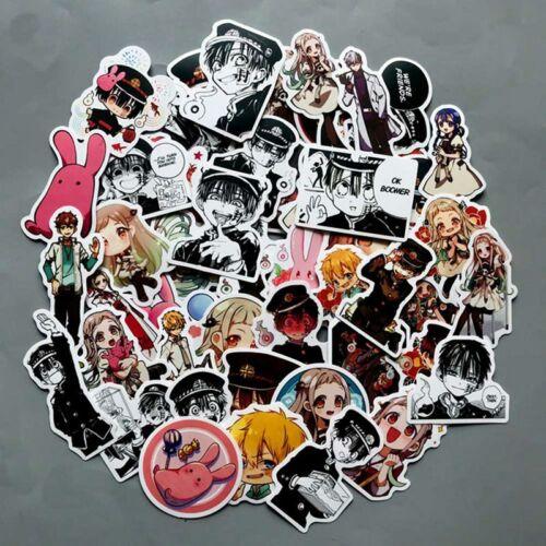 50x Sticker Notebook Sticker Car Sticker Toilet Bound Hanako kun shape TyZvP