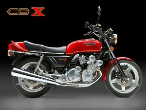 24-034-X-30-034-High-Definition-PHOTOGRAPH-Poster-of-Honda-CBX-Side-view