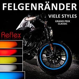"""LISERET AUTOCOLLANT 700601 Classic-Style Reflex Bleu Pour 16"""" 17"""" 18"""" Pouces  </span>"""