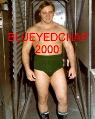 LARRY ZBYSZKO WRESTLER 8 X 10 WRESTLING PHOTO WWWF NWA AWA