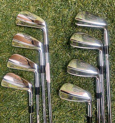 Titleist 680 Forged 3-Pw Iron Set,RH,Project X 5.5 Precision Regular Steel Shaft  | eBay