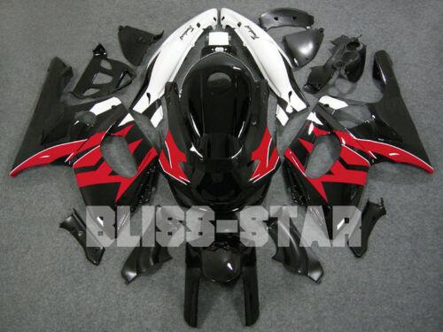 Red Black Fairing Bodywork For Yamaha YZF600R thundercat 1997-2007 58 B3 C3