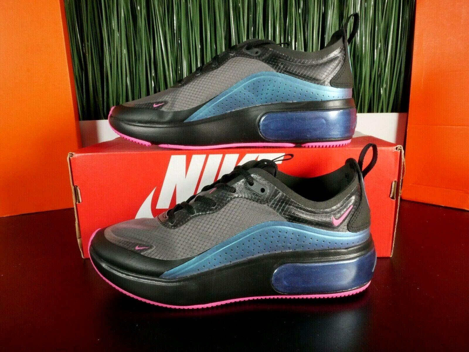 Nike Air Max Dia SE Womens Running Shoes Black Laser Fuchsia AR7410 001 Size 6 8