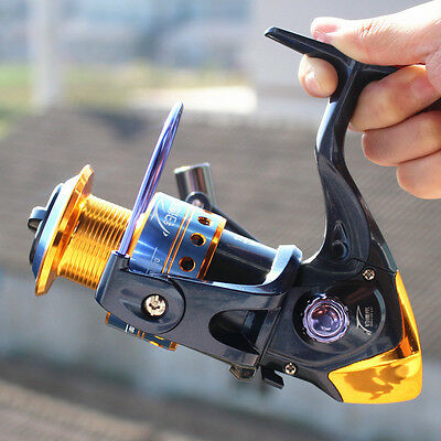 11 BB Ball Bearings Spinning Reels Saltwater Rock Fishing Reel Speed Gear Spool