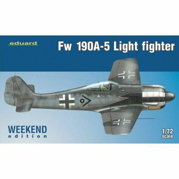 Eduard Fw 190A-5 Light Fighter 2 cannons Weeken Edition 1:72 Eduard 7439