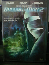 Hollow Man 2 (DVD, 2006) Christian Slater WORLDWIDE SHIP AVAIL!