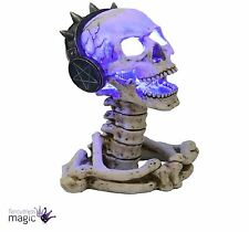 Nemesis Now James Ryman Play It Loud Large Skull LED Lamp Light Gothic Home Gift