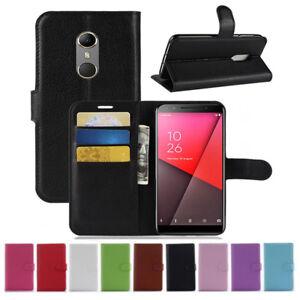 Pour-Vodafone-X9-C9-N9-N8-E8-V8-Clapet-Magnetique-Carte-Cuir-PU-Etui-Housse