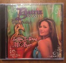 BEATRIZ MONTES Con Banda Sinaloense - Lo Que Tu Digas Mi Amor CD NUEVO Rarisimo