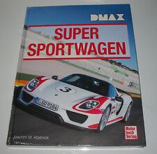 Bildband Super Sportwagen Audi Porsche Bugatti Ferrari Lamborghini Wiesmann NEU!