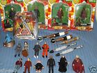 VARIOUS DOCTOR DR WHO CHARACTER ACTION FIGURES & SONIC SCREWDRIVERS LASER MASTER