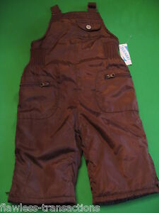 dafe1ccdb09a OLD NAVY Winter Bib Snow Suit Overalls Baby Snowsuit Size 6 -12 ...