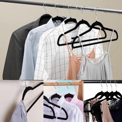Kleiderbügel 50 Stück Anzugbügel Hemdenbügel Garderobenbügel samt Hosenbügel