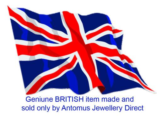 18K ROSE ORO VERMEIL 2.3 mm di larghezza Argento Sterling Catena Belcher Made in England