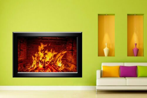 Fireplace Decorative Wall Stickers Mural Decal Home Living Dining Room Decor N1