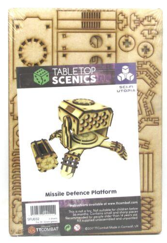 Heavy Weapon Launcher TTCombat SFU032 Missile Defence Platform Sci-Fi Utopia