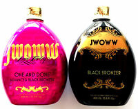 Lot Of 2 Australian Gold Jwoww One & Done & Jwoww Black Bronzer Tanning Lotion