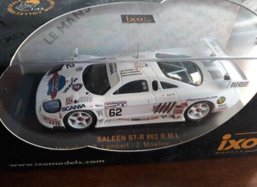 Ixo 1//43 Saleen S7-R #62 Le Mans 2001 LMM033