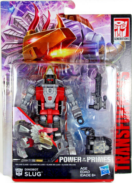 Transformers Power of the Primes DELUXE Dinobot Slug Hasbro Action Figure New