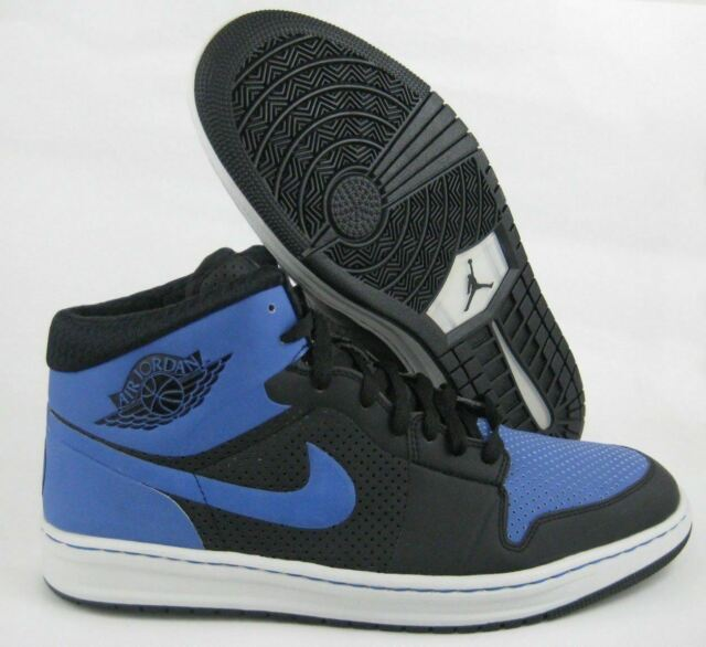 huge discount c825e 0619e NIKE AIR JORDAN 1 RETRO HIGH ALPHA ID Royal Black SZ 15 BRED KO BANNED  CHICAGO