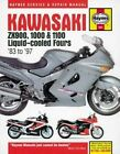 Kawasaki Zx900, 1000 & 1100 Liquid-Cooled Fours Motorcycle Repair Manual by Anon (Paperback, 2016)