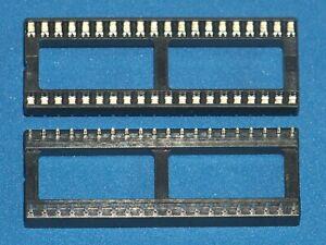 Ic-Socket / Ic Sockets, 40-polig (Wide), Doppelfederkontakt, Amount Nach Request