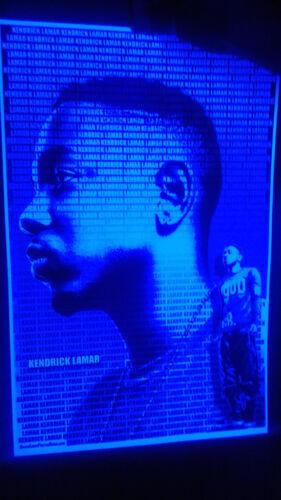 """Aaliyah /""""Black Light/"""" Poster"""