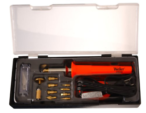 WELLER Wood Burning PYROGRAPHY SET Pen Tips Art Crafts Tools Kit Watt Soldering