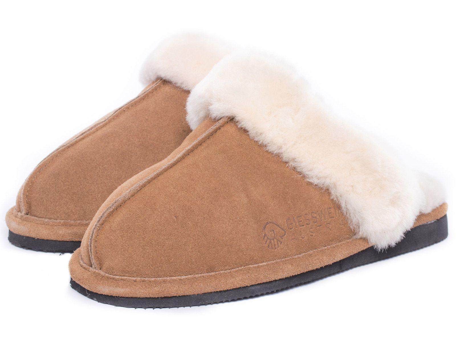 Giesswein crescenti Henna calde Agnello 42 Pantofole Ciabatte 36 - 42 Agnello Slipper 286cb3