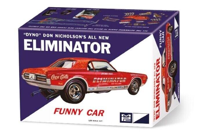 Dyno Don Nicholson Cougar Elimination or Roly bil 1 25 skala MPC Plastic bil Kit