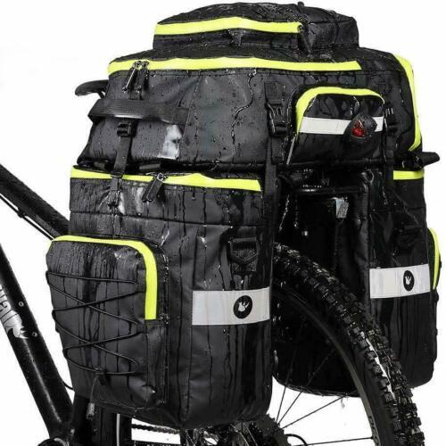 Fahrradtasche Radfahren Gepäckträger Tasche Reißfest Groß Gepäcktaschen mit