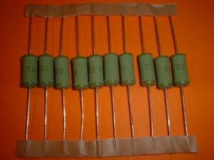 10x 1,2 kOhm 4 Watt Widerstand Metalloxid MOX 5/%