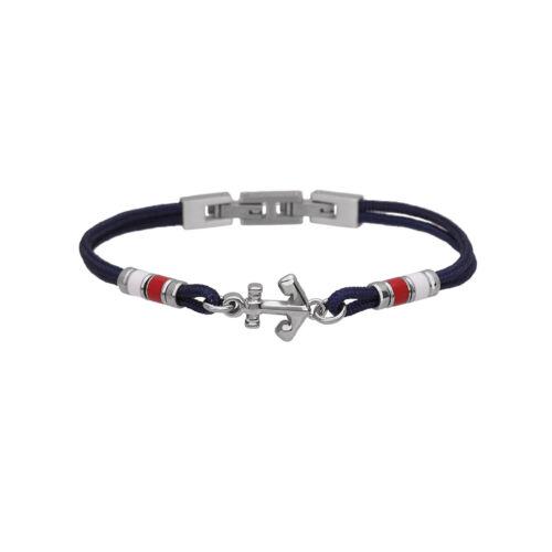 2 jewels 231997 bracciale uomo acciaio collezione Navy