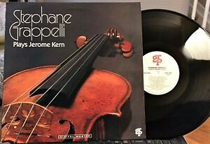 Martin-Taylor-w-STEPHANE-GRAPPELLI-034-Plays-Jerome-Kern-034-GRP-GR1032-1987-NM