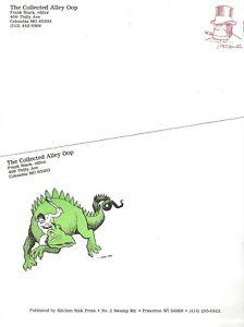 ALLEY-OOP-KITCHEN-SINK-PRESS-1990-STATIONERY-LETTERHEAD-amp-ENVELOPE-F-STACK