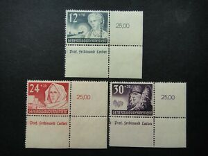 Germany Nazi 1940 Stamps MNH German Peasant Girl Woman Generalgouvernement WWII
