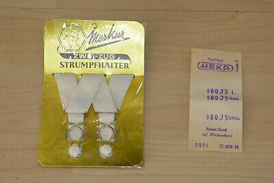 Sinnvoll Zwei-zug Strumpfhalter Strapse Merkur Originalverpackung Mit Kassenzettel 1966