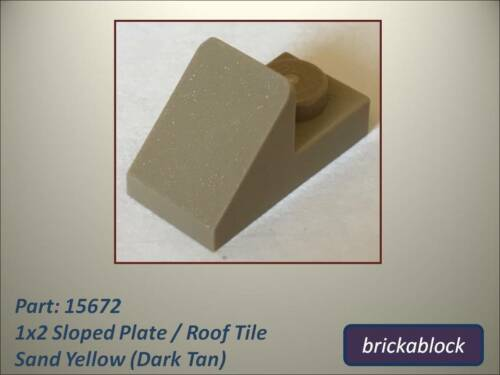 *ALL COLOURS SAME PRICE* NEW Lego Part 15672 1x2 Sloping Roof Tile Choose 2-25