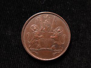 British-East-India-Co-St-Helena-Copper-Halfpenny-1821