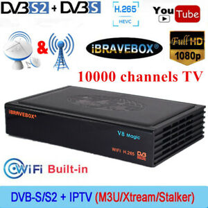 V8-Magic-DVB-S-S2-1080P-FHD-Smart-Digital-Satellite-Receiver-TV-Box-H-265-WIFI