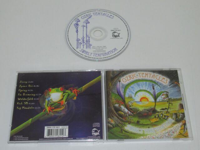 OZRIC TENTACLES/SWIRLY TERMINATION(SMA CD 821) CD ALBUM