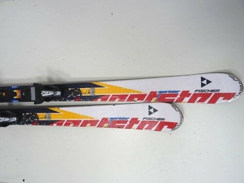 Skis CARVING FISCHER XTR Sporttar with binding, 160cm (ee763)