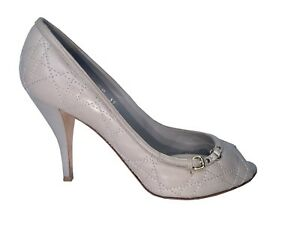 7a85d85fdb Image is loading Authentic-Christian-Dior-Peep-Toe-Pumps-Size-39