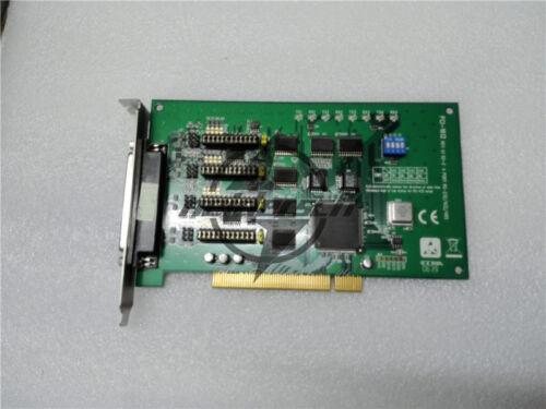 Used Advantech PCI-1612 REV A1 4 Port RS-232//422//485 DAQ Card Tested