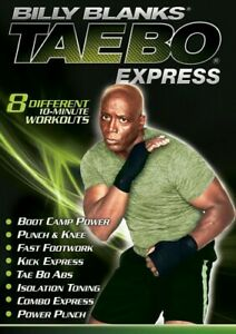 Billy Blanks Tae Bo Express 10 Minute Workouts DVD